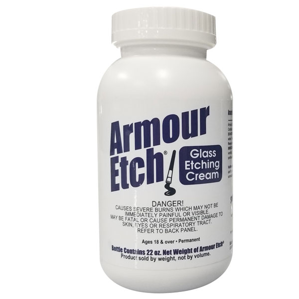 22 oz Armour Etch Glass Etching Cream
