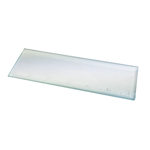 "29-2401 - Clear-2""x6"" Bevel Glass RULER"