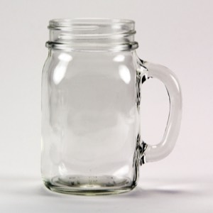 60-3863 - Mason Jar Mug 16 oz  Set of 12 pcs